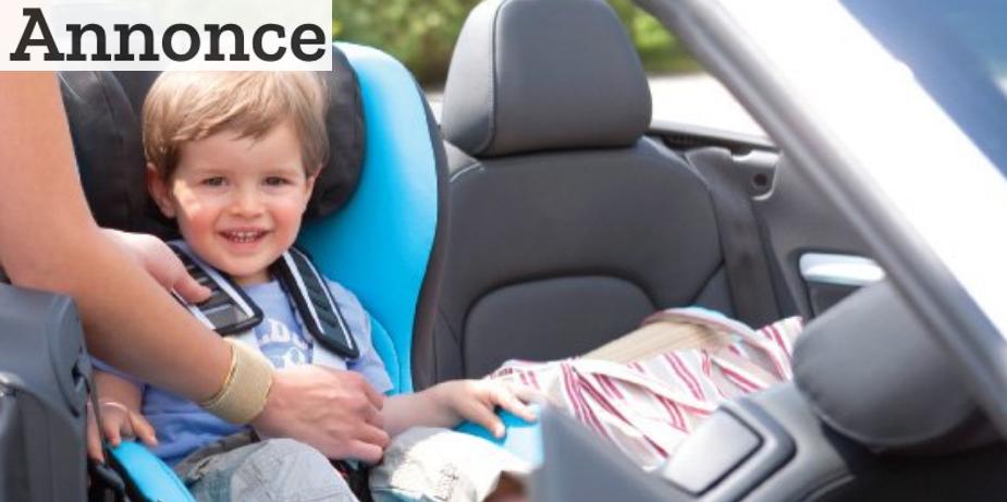 Autostolen er et must-have for enhver børnefamilie med bil. Foto: Römer.