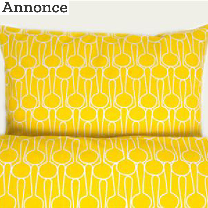gult sengetøj Sengetøj til børn i flotte farver   Prins & Prinsesse gult sengetøj