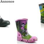 Her kan du få smarte gummistøvler til børn