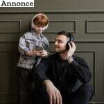 3 tidspunkter hvor du og dit barn sammen kan lytte til en god lydbog